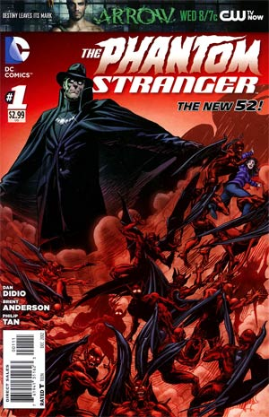 Phantom Stranger Vol 4 #1 Regular Brent Anderson Cover