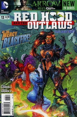 Red Hood And The Outlaws #13 1st Ptg