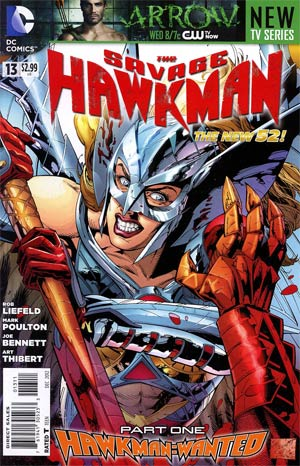 Savage Hawkman #13