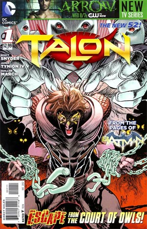 Talon #1 Regular Guillem March Cover