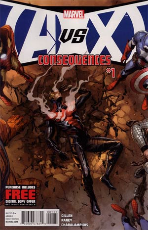 AVX Consequences #1 Cover A 1st Ptg Regular Patrick Zircher Cover