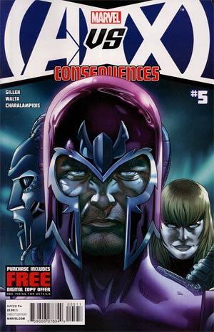 AVX Consequences #5 Cover A 1st Ptg Regular Salvador Larroca Cover