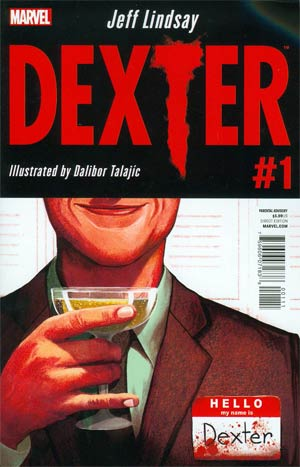 Dexter #1 Cover A 1st Ptg Regular Mike Del Mundo Cover