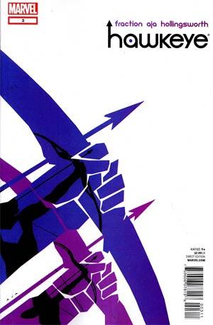 Hawkeye Vol 4 #3 1st Ptg