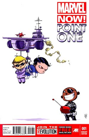 Marvel Now Point One #1 Variant Skottie Young Baby Cover
