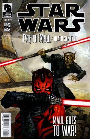 Star Wars Darth Maul Death Sentence #4