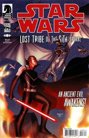 Star Wars Lost Tribe Of The Sith Spiral #3
