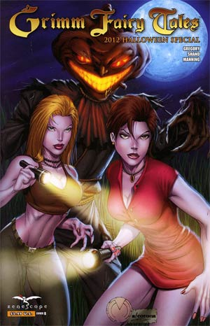 Grimm Fairy Tales Halloween Special 2012 Cover B Marat Mychaels