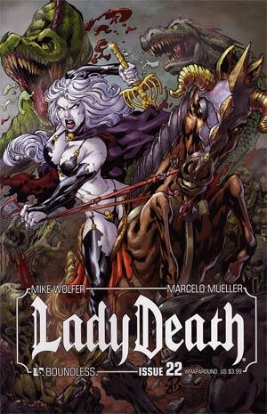 Lady Death Vol 3 #22 Wraparound Cover