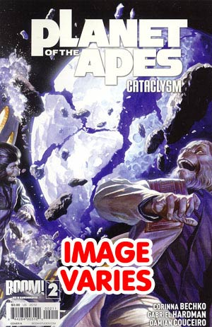 DO NOT USE Planet Of The Apes Cataclysm #2 Regular Cover (Filled Randomly With 1 Of 2 Covers)