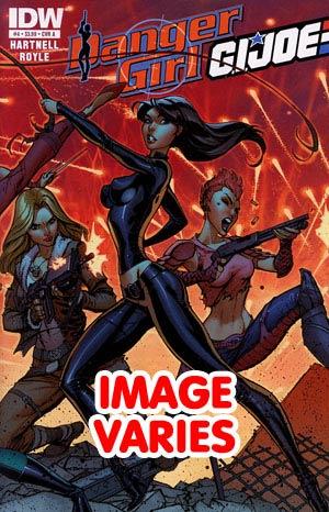 DO NOT USE Danger Girl GI Joe #4 Regular Cover (Filled Randomly With 1 Of 2 Covers)