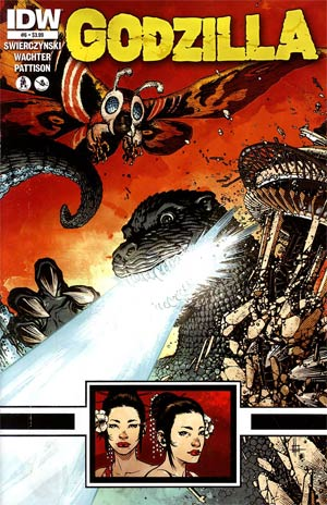 Godzilla Vol 2 #6 Cover A Regular Zach Howard Cover