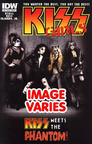 DO NOT USE KISS Vol 2 #5 Regular Cover (Filled Randomly With 1 Of 2 Covers)