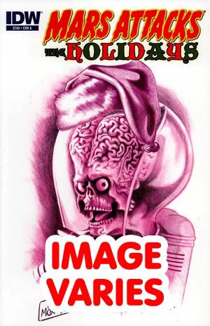 DO NOT USE Mars Attacks Holidays One Shot (Filled Randomly With 1 Of 4 Covers)