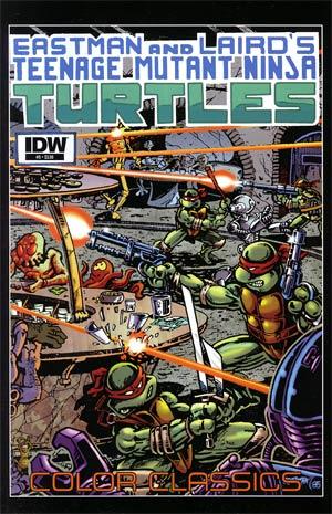 Teenage Mutant Ninja Turtles Color Classics #5
