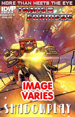 do not use Transformers More Than Meets The Eye #10 Regular Cover (Filled Randomly With 1 Of 2 Covers)