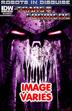 DO NOT USE Transformers Robots In Disguise #10 Regular Cover (Filled Randomly With 1 Of 2 Covers)