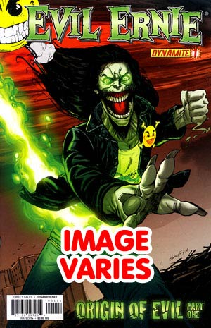 DO NOT USE Evil Ernie Vol 3 #1 Regular Cover (Filled Randomly With 1 Of 4 Covers)
