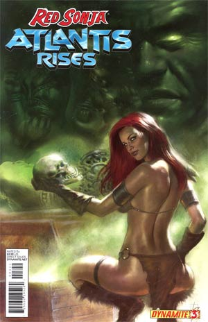Red Sonja Atlantis Rises #3