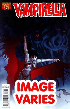DO NOT USE Vampirella Vol 4 #24 Regular Cover (Filled Randomly With 1 Of 3 Covers)
