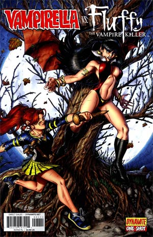 Vampirella vs Fluffy One Shot