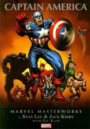 Marvel Masterworks Captain America Vol 2 TP Book Market Edition