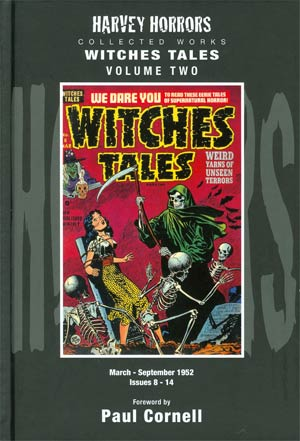 Harvey Horrors Collected Works Witches Tales Vol 2 HC