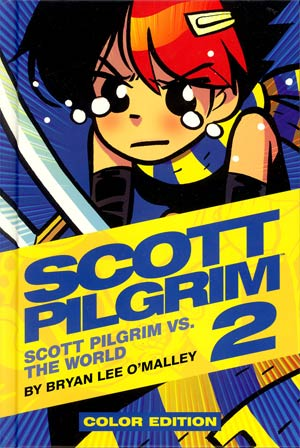 Scott Pilgrim Color Edition Vol 2 Scott Pilgrim vs The World HC
