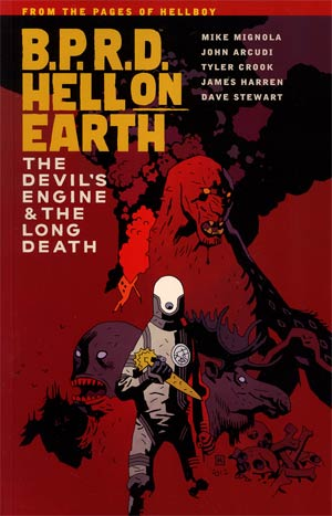 BPRD Hell On Earth Vol 4 Devils Engine And The Long Death TP