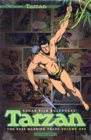 Tarzan Russ Manning Years Vol 1 HC