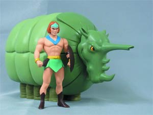 Hanna-Barbera History Collection Tundro 8.25-Inch Action Figure