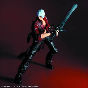 Devil May Cry 3 Play Arts Kai Dante Action Figure