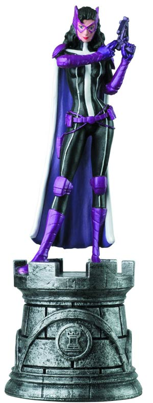 DC Superhero Chess Figure Collector Magazine #21 Huntress White Rook