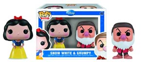 POP Mini Disney 02 Snow White And Grumpy Boogie Vinyl Figure 2-Pack