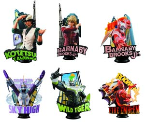 Tiger & Bunny Chess Piece Collection Vol 1 Blind Mystery Box