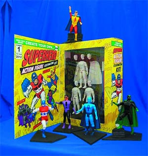 Create Your Own Superhero Action Figure Kit