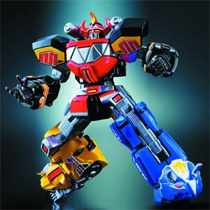 Super Robot Chogokin - Megazord (Mighty Morphin Power Rangers) Die-Cast Action Figure