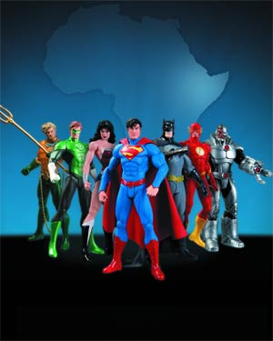 We Can Be Heroes Justice League 7-Pack Box Set