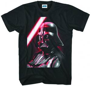 Star Wars Darth Vader Close & Personal Black T-Shirt Large