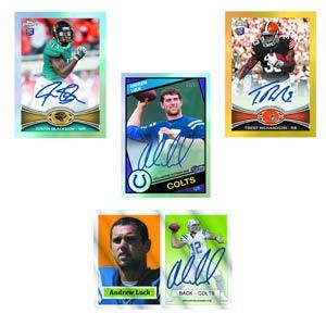Topps 2012 Chrome Football Trading Cards Box