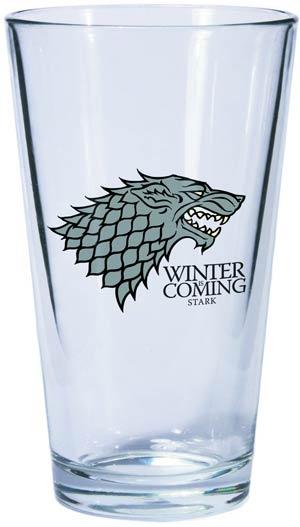 Game Of Thrones Pint Glass - Stark Sigil
