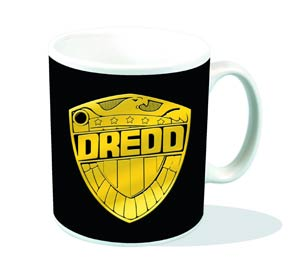 Judge Dredd Badge Mug