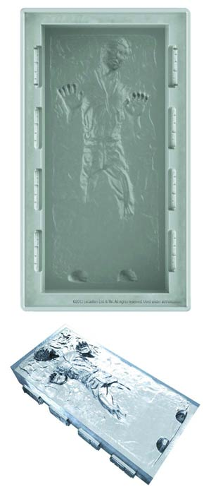 Star Wars DX Silicone Tray - Han Solo In Carbonite