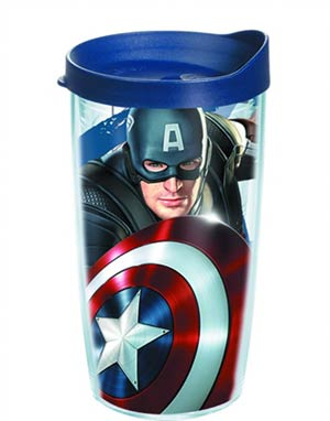 Tervis Marvel Captain America 16-Ounce Tumbler With Lid