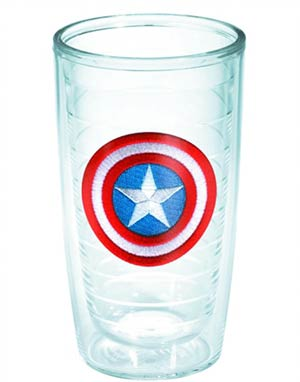 Tervis Marvel Captain America Shield 16-Ounce Tumbler