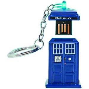 Doctor Who TARDIS 4GB USA Memory Stick