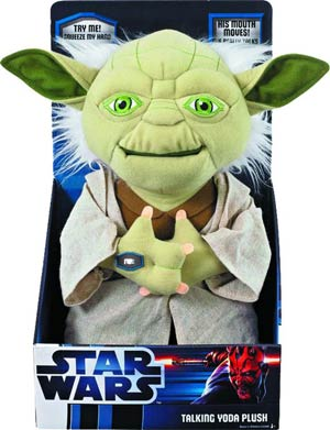 Star Wars Yoda 12-Inch Mouth Moving Plush