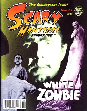 Scary Monsters Magazine #84 Oct 2012