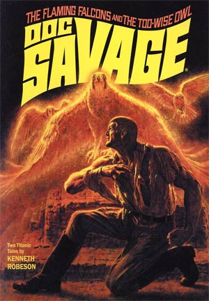 Doc Savage Double Novel Vol 62 Variant James Bama Cover