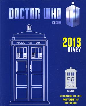 Doctor Who Diary 2013 HC